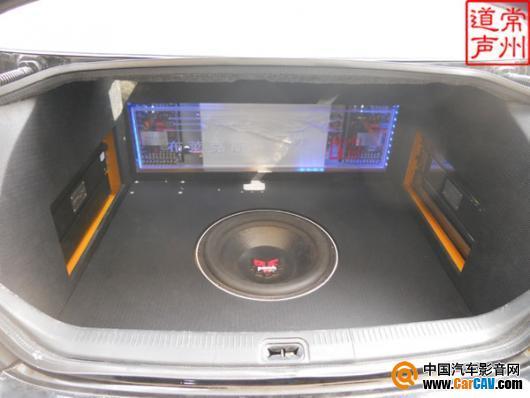 常州道声汽车音响 全国首创IPAD装进日产天籁汽车影音升级 6高清图片