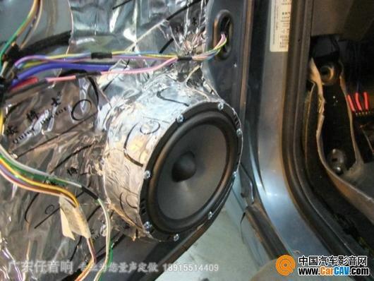 仔 标致307音响改装加全车隔音成就精致享受 4图片