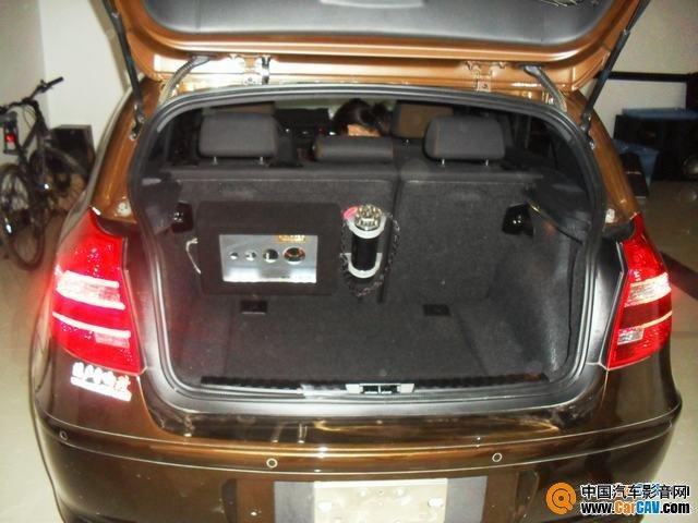 武汉港声宝马120I汽车音响改装音打造演绎真实盛况 8高清图片