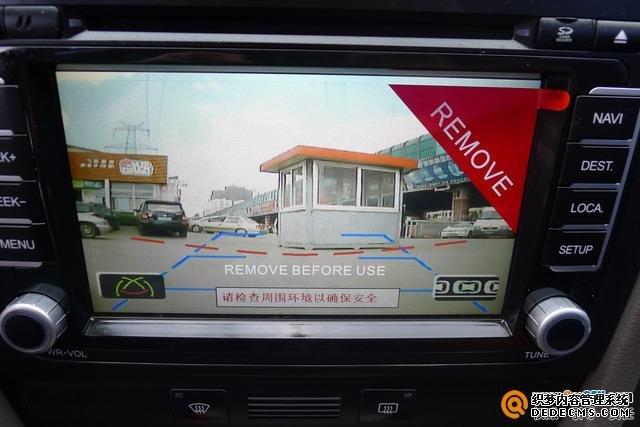 云南昆明音乐前线汽车音响 奥迪A6音响改装飞歌DVD导航高清图片