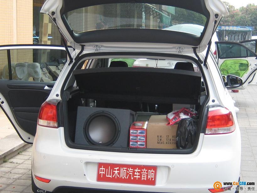 中山禾顺汽车音响 大众polo音响改装升级i Fi高清图片
