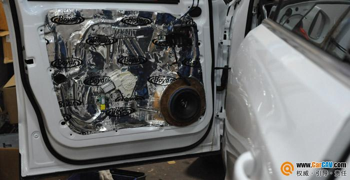 重庆三正汽车影音 奥迪Q5汽车音响改装喜力士顶级发烧升级 5高清图片