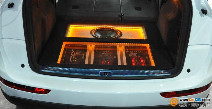 重庆三正汽车影音 奥迪Q5汽车音响改装喜力士顶级发烧升级 7高清图片